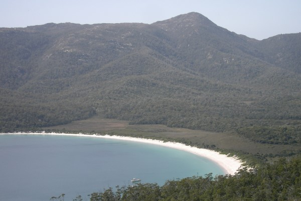 Wineglass bay Australië