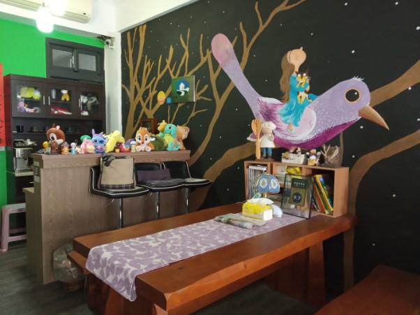 Woonkamer guesthouse Ephone Taiwan