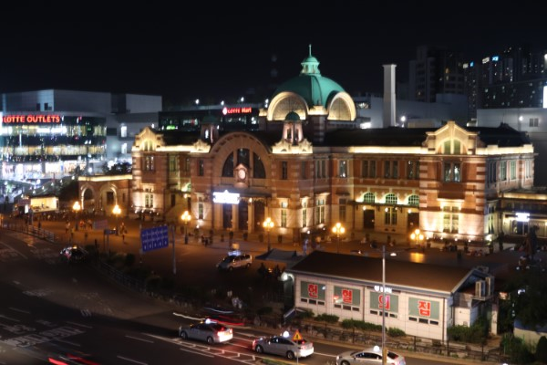 Seoul station Zuid Korea