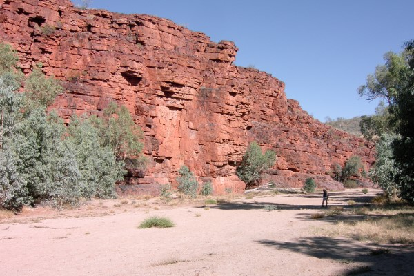 Rotsen Kings Canyon Australië